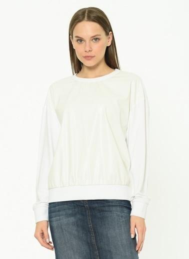 GIZIA Bluz Beyaz
